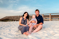 Orange Beach Family Portrait