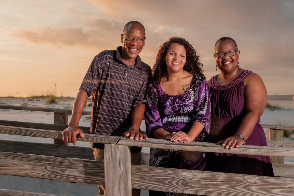 Sunrise Family Portrait Session