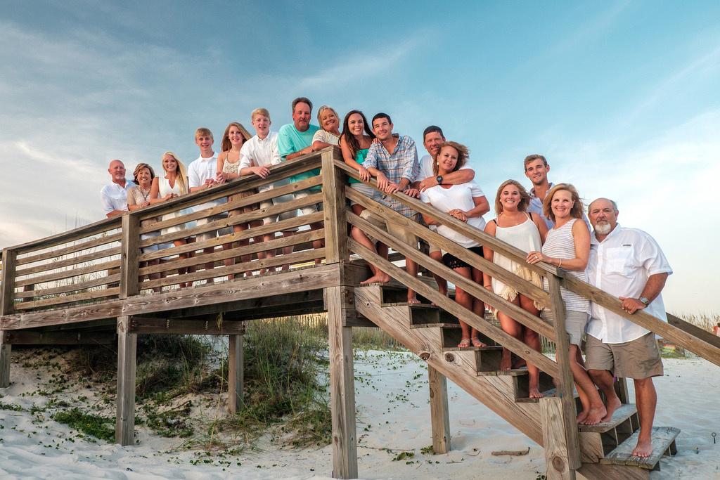 Gulf Shores West Beach Group Portrait