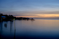 November Evening at Fairhope Municpal Pier