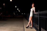 A Night Portrait Session in Pensacola