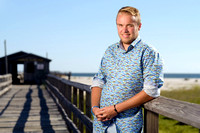 Portrait at Fishing Pier | Dauphin Island