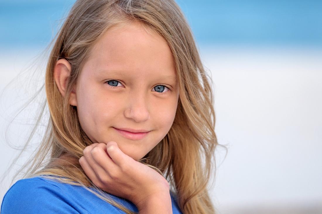 Child Portrait in Perdido Key