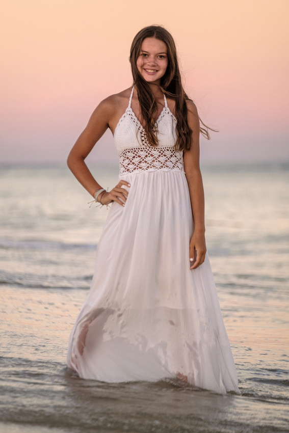 Senior Beach Portrait Photography
