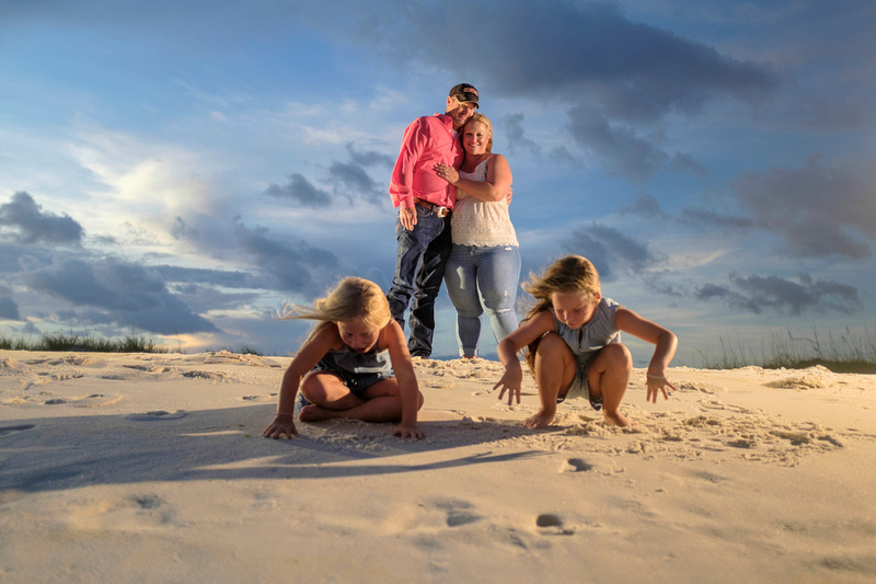 Family Beach Portrait in Perdido Key, Florida