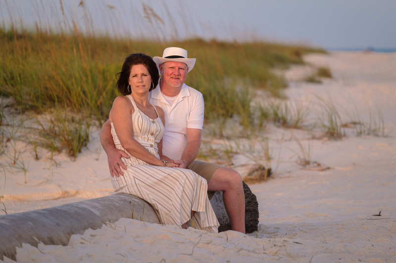 Couples Beach Portraits in Perdido Key Florida