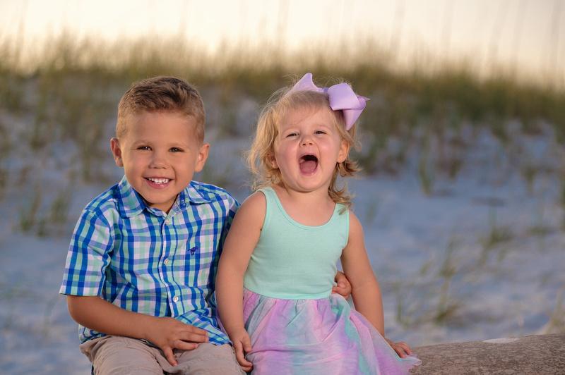 Family Beach Portraits in Perdido Key