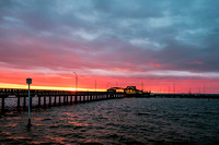 Fairhope Pier Sunset