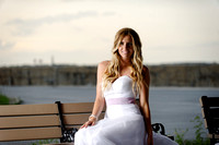 Bridal Beach Portrait