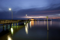 Fairhope Municipal Pier at Dusk