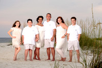 Beach Vacation Family Portraits | Gulf Shores | Perdido Key