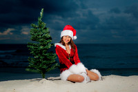 Orange Beach Christmas Portrait