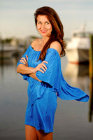 Orange Beach Portrait