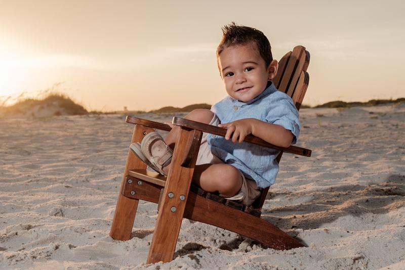 Child Portrait Beach Club