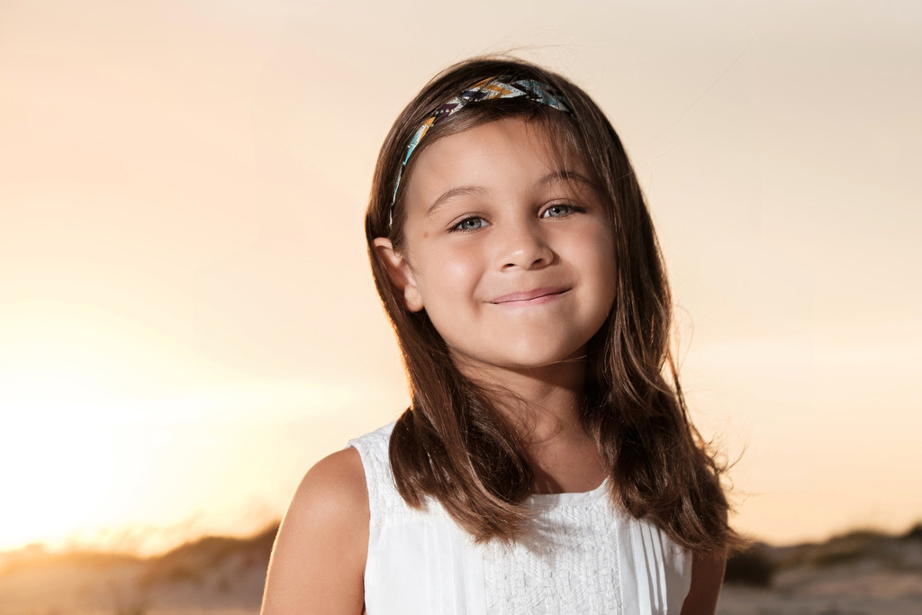 Beach Portrait Child