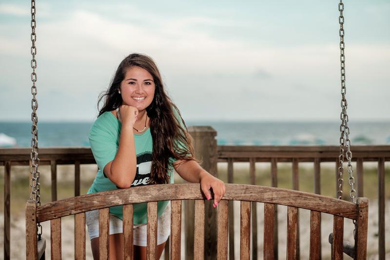 Senior Portrait in Gulf Shores