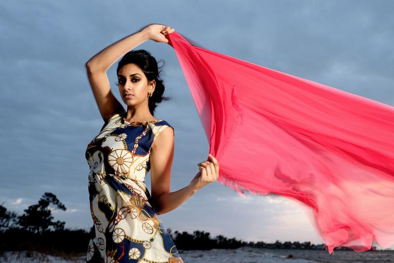 Gulf Shores Model Portrait