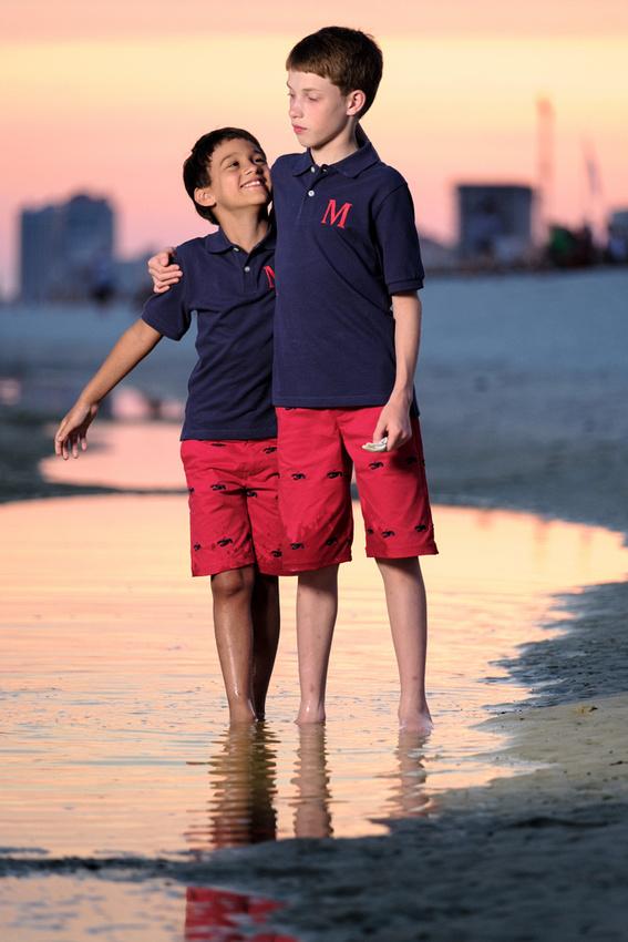 Sunset Beach Portrait Photographer