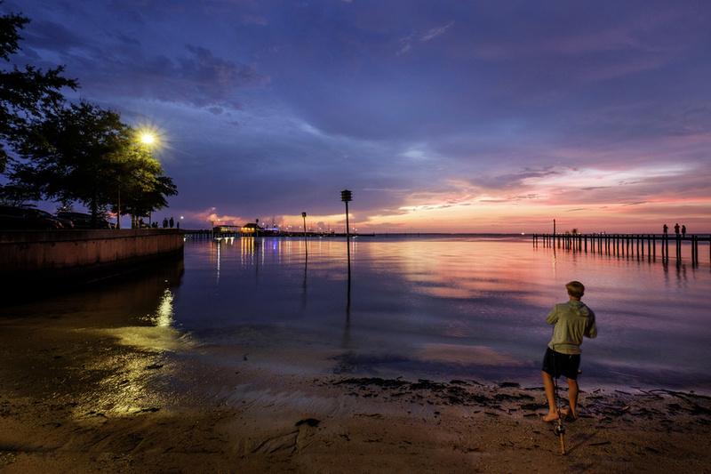 Fairhope Pier Photography