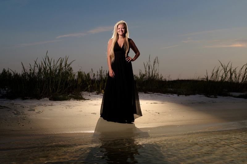 Senior Portrait Photographer in Perdido Key