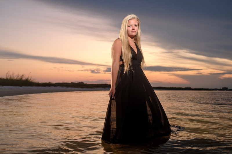Sunset Beach Portrait Perdido Key