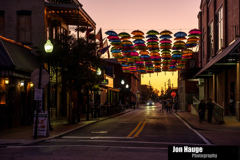 Umbrellas in Pensacola