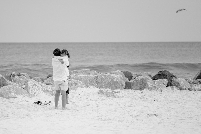 Beach Proposal in Gulf Shores