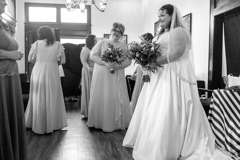 Wedding at Azalea Manor Mobile Alabama
