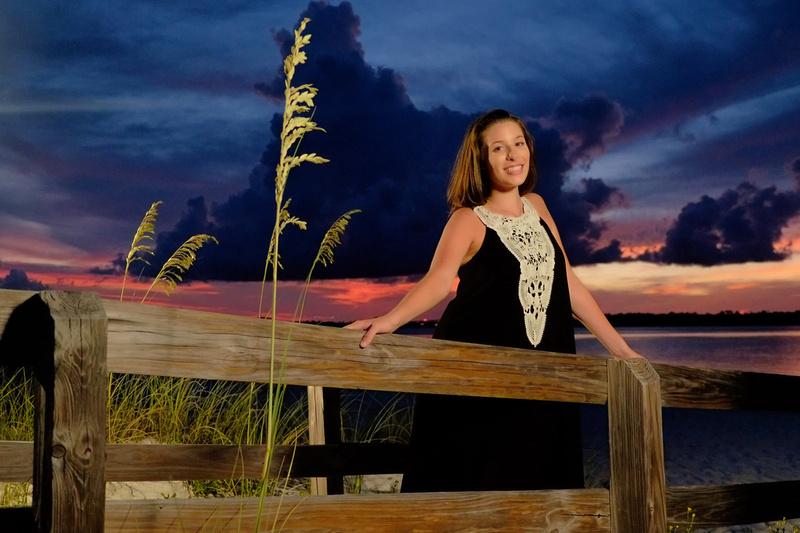 Sunset Portrait at Perdido Key