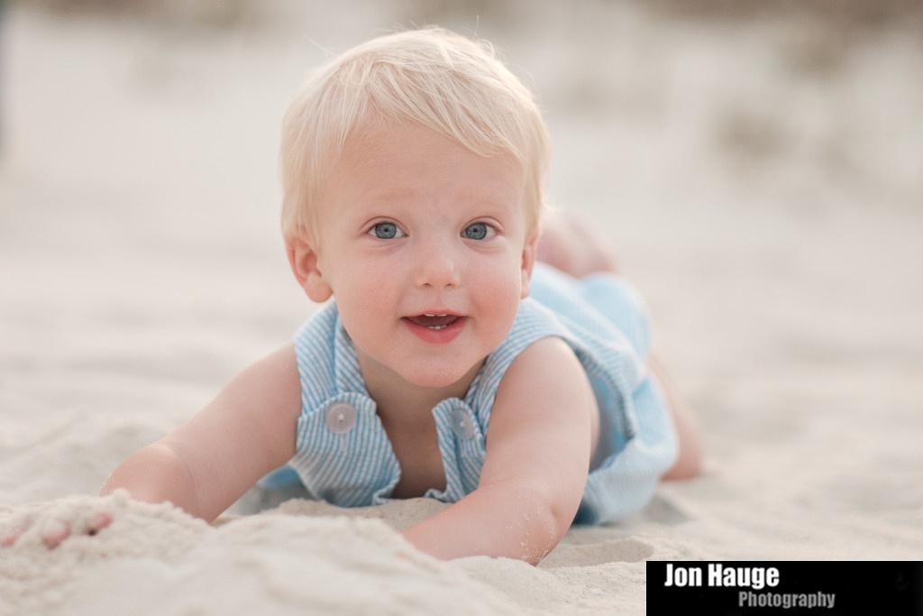 Infant Portrait Orange Beach