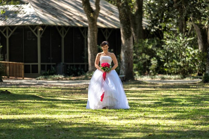 Eden Gardend State Park Wedding Photography