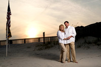 Engagement at the Beach Club | Fort Morgan