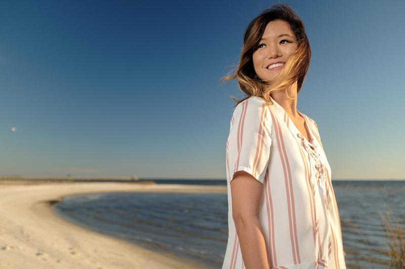 Senior Portrait Photographer in Ocean Springs