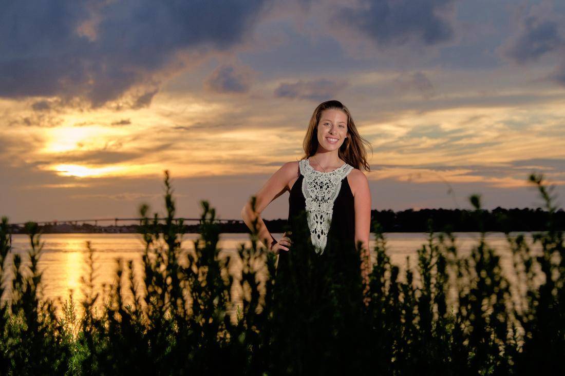 Sunset Portrait at Big Lagoon
