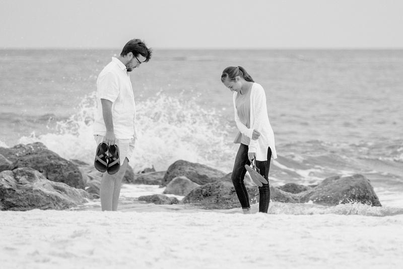 Orange Beach Proposal Photographer