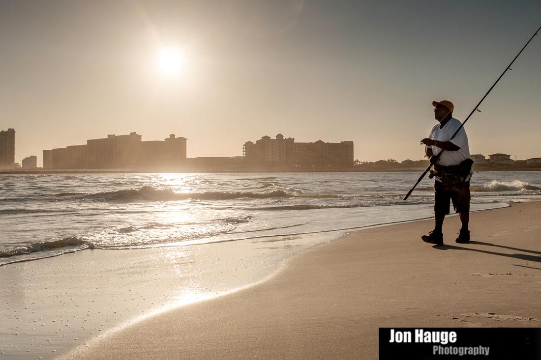 Jon hauge photographer surf fishing at perdido pass for Perdido key fishing