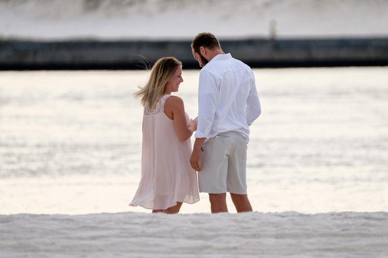 Gulf Shores Proposal Photographer