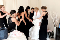 Brides Getting Ready Photography