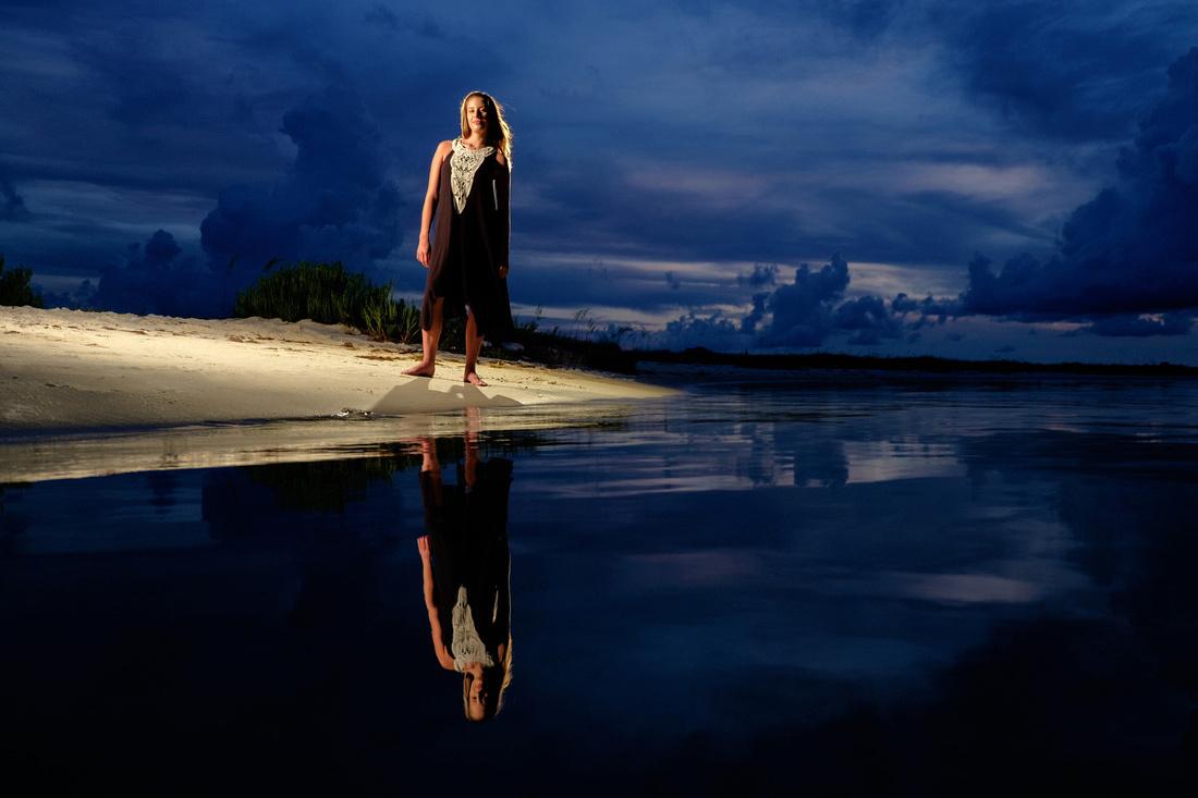 Sunset Portrait at Pensacola