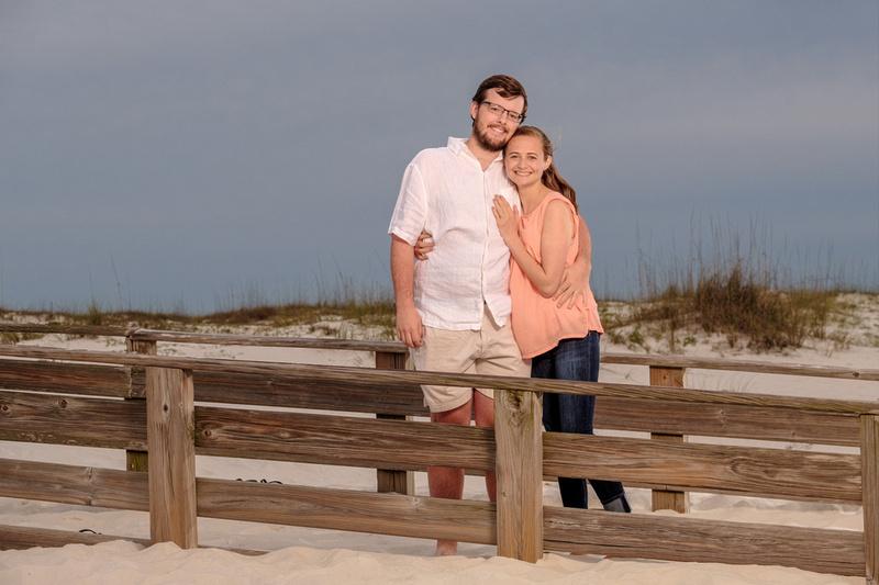 Engagement Portrait Orange Beach