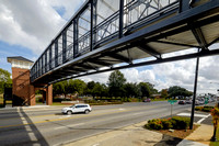 Hwy 59 at Foley Pedestrian Bridge