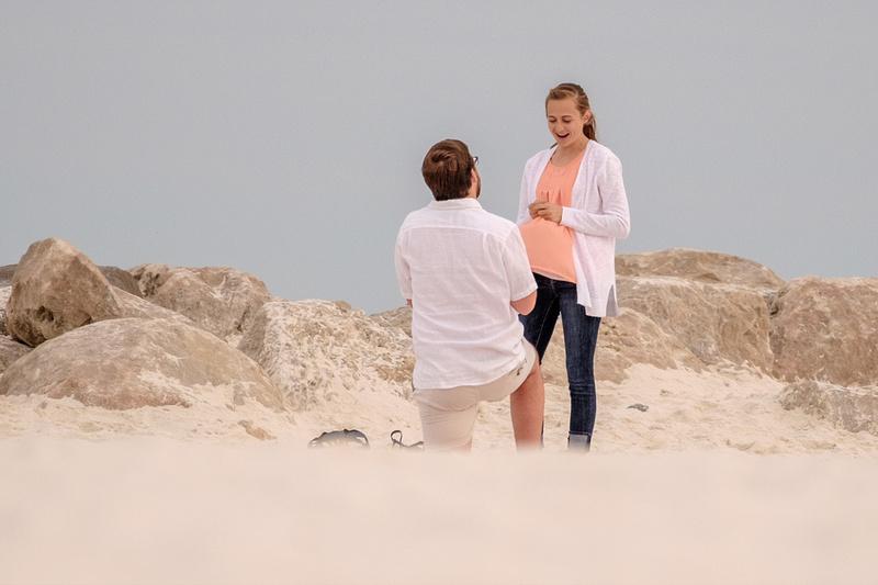 Proposal in Orange Beach
