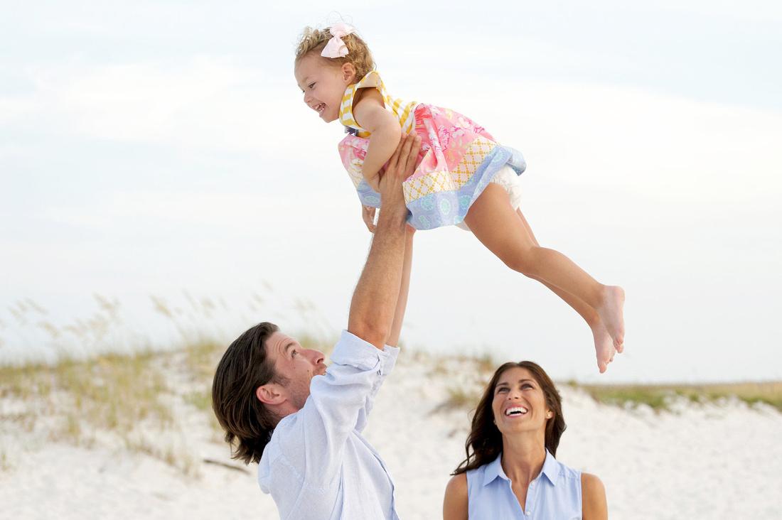 Jon Hauge Photographer Baby Announcement At Orange Beach