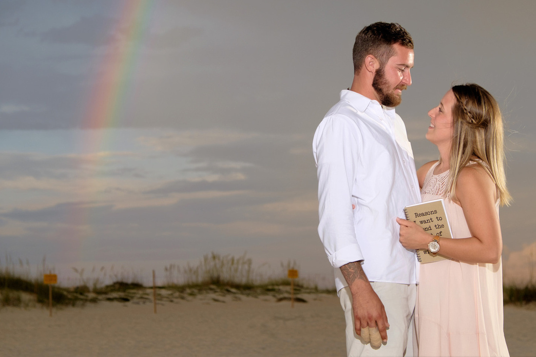 Proposal Under the Rainbow in Orange Beach