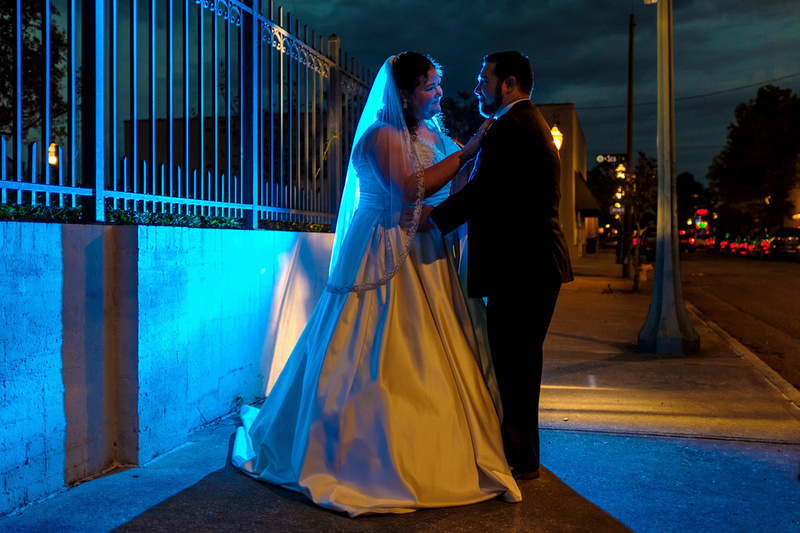 Wedding Portrait Downtown Mobile Alabama