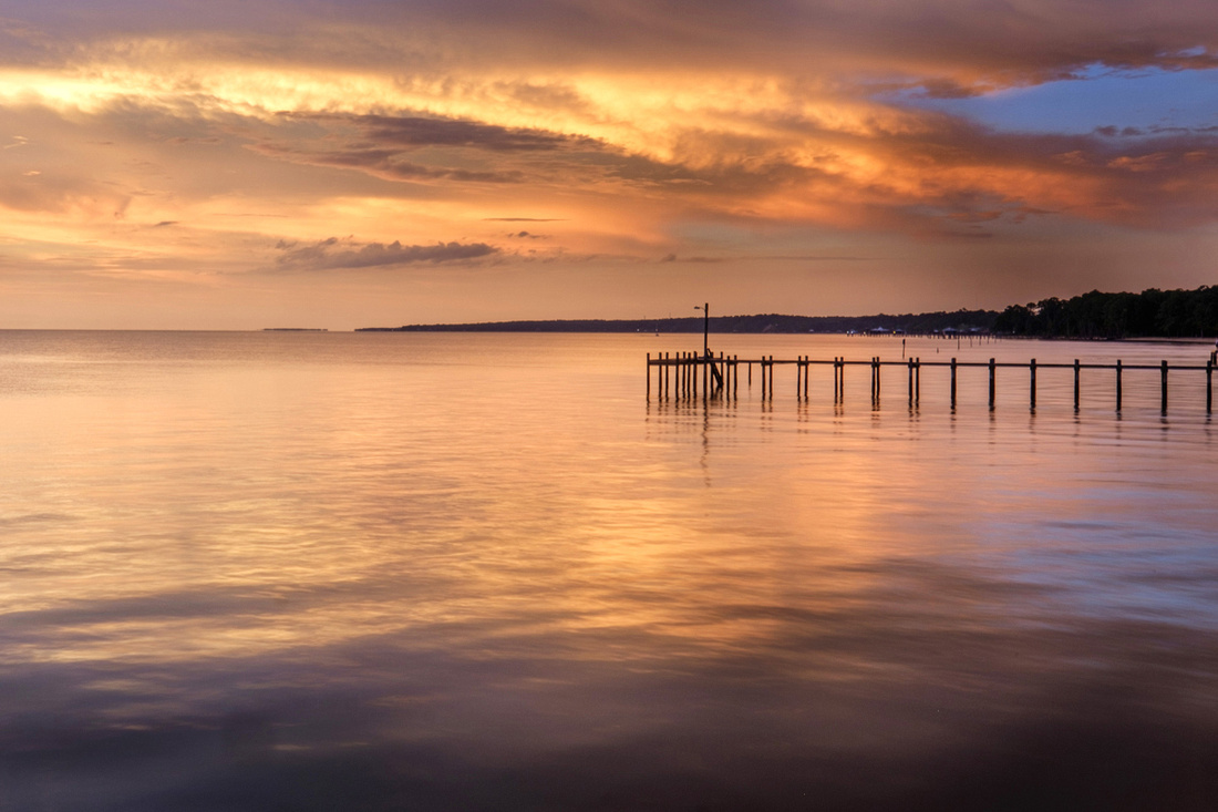 Mobile Bay Sunset Photography