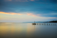 Fairhope Pier at Dusk
