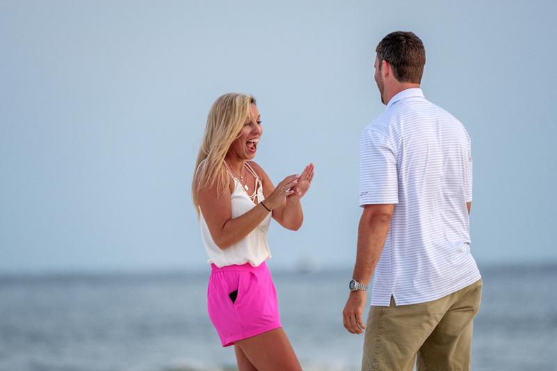 Proposal Photographer in Orange Beach Alabama